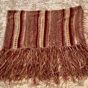 Lucky Brand , Multi-textured winter scarf.